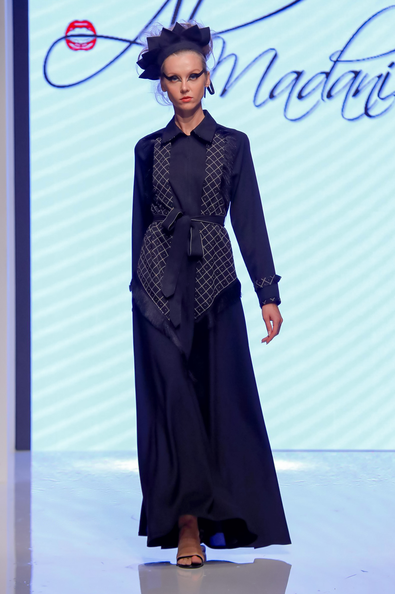 Sara Al Madani Resort 2020 Collection Arab Fashion Week in Dubai