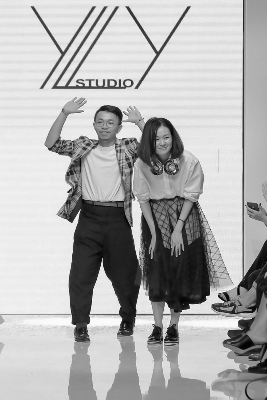 YLY STUDIO Presented by HKFG Resort 2020 Collection Arab Fashion Week in Dubai