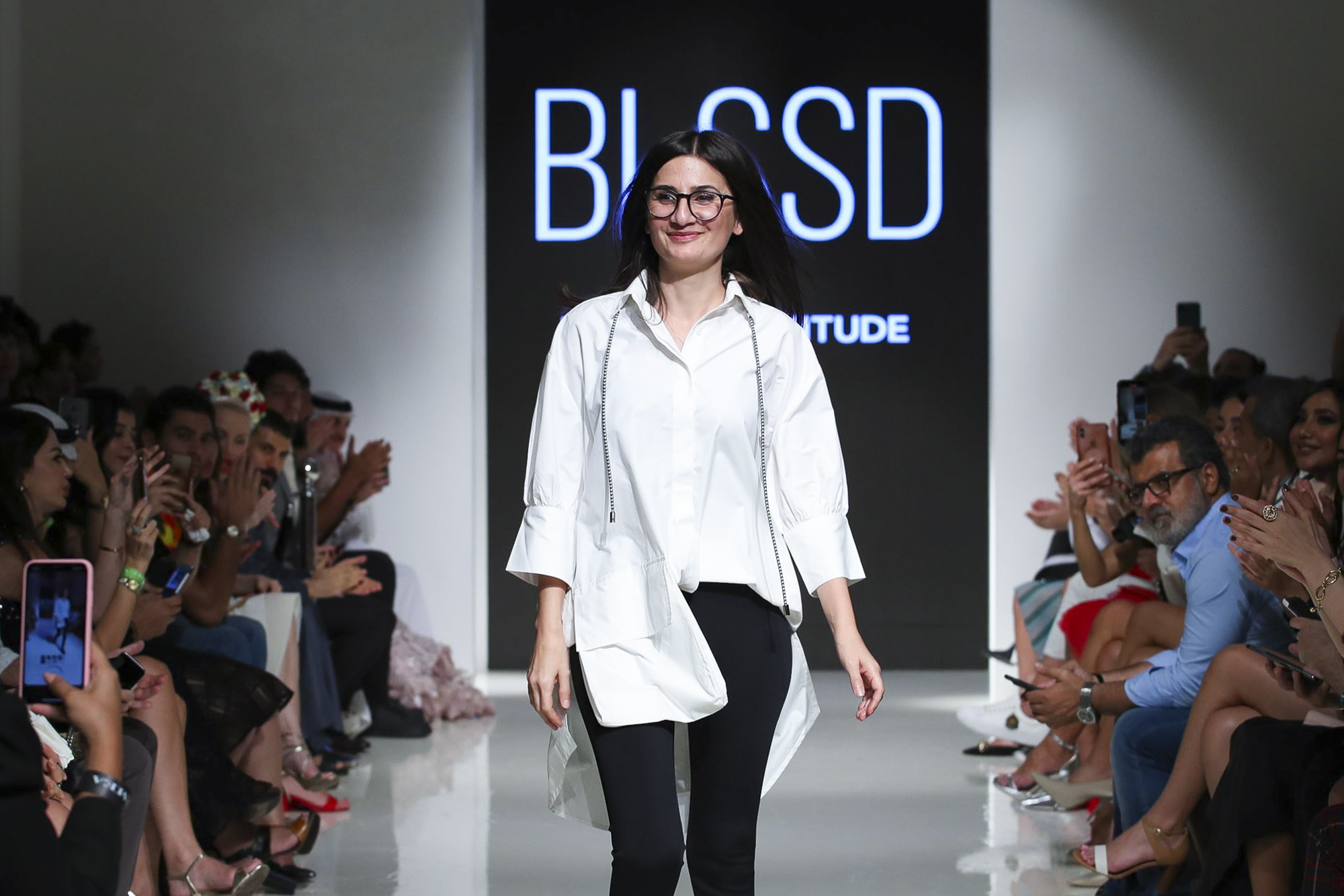 Blssd fashion show, Arab Fashion Week collection Spring Summer 2020 in Dubai