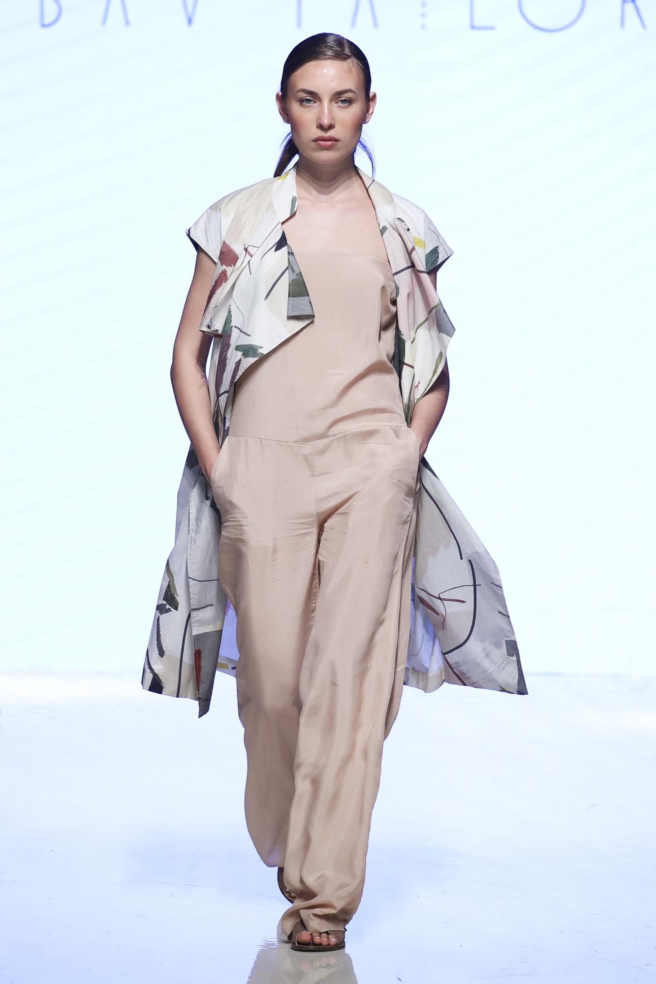 Bav Tailor fashion show, Arab Fashion Week collection Spring Summer 2020 in Dubai