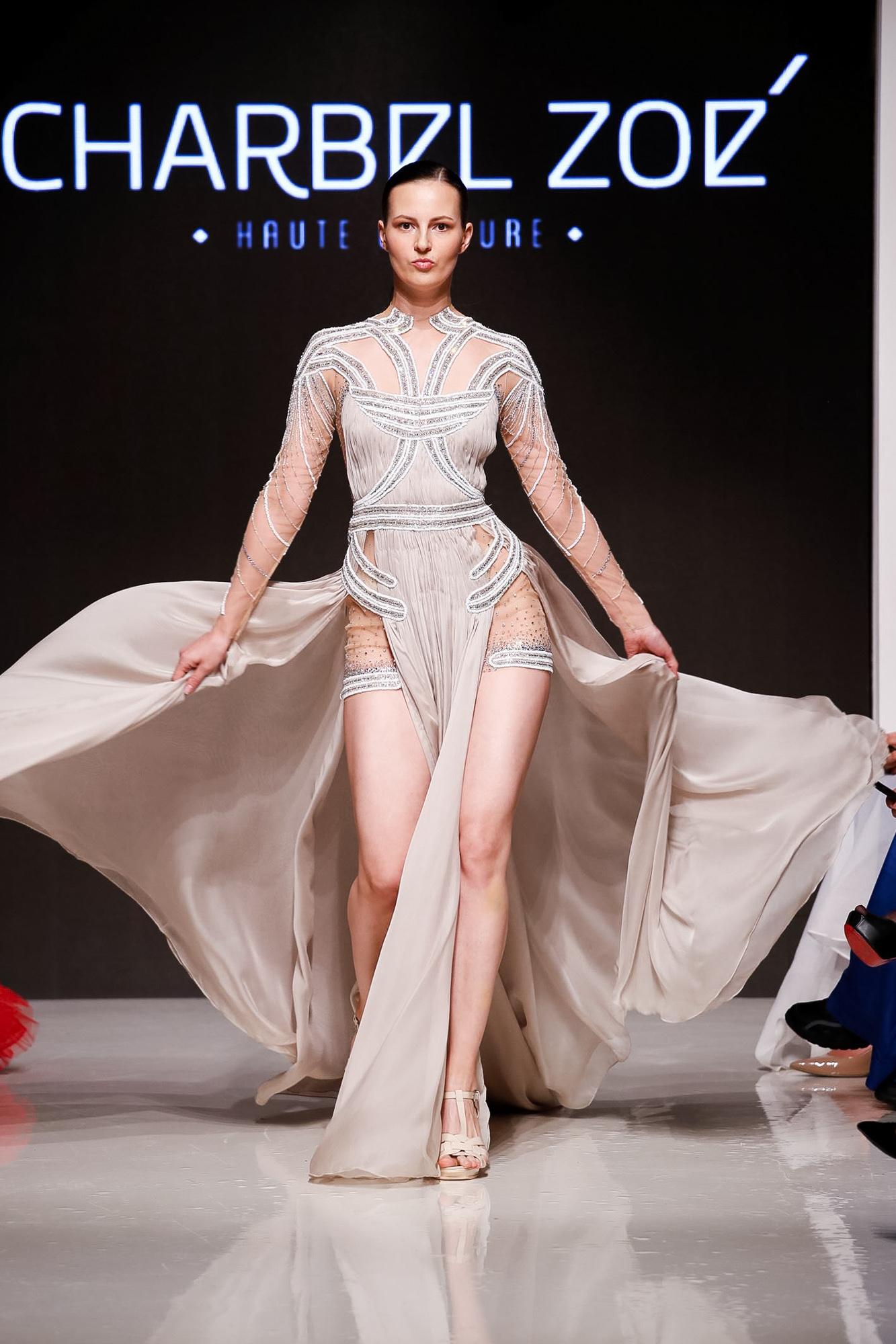 Charbel Zoe fashion show, Arab Fashion Week collection Spring Summer 2020 in Dubai