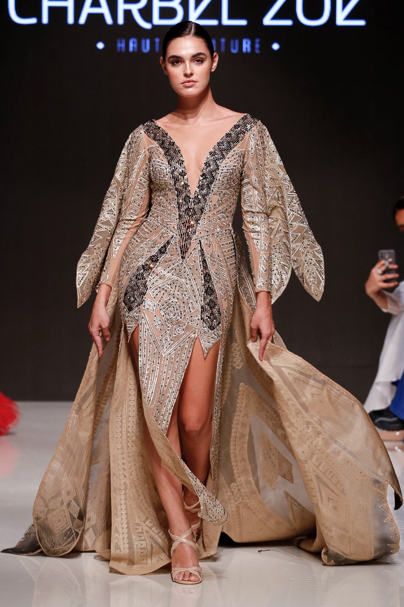 Charbel Zoe fashion show, Arab Fashion Week collection Spring Summer 2020 in Dubai