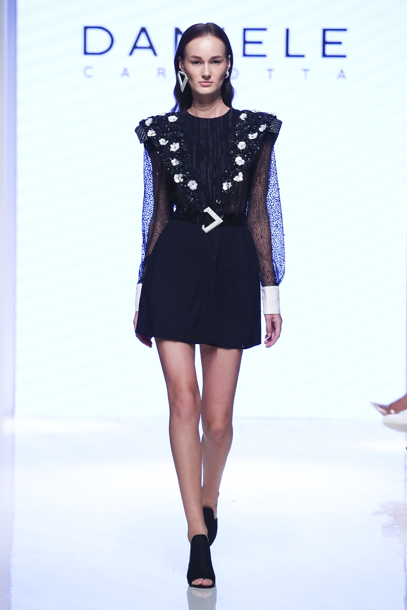 Daniele Carlotta fashion show, Arab Fashion Week collection Spring Summer 2020 in Dubai