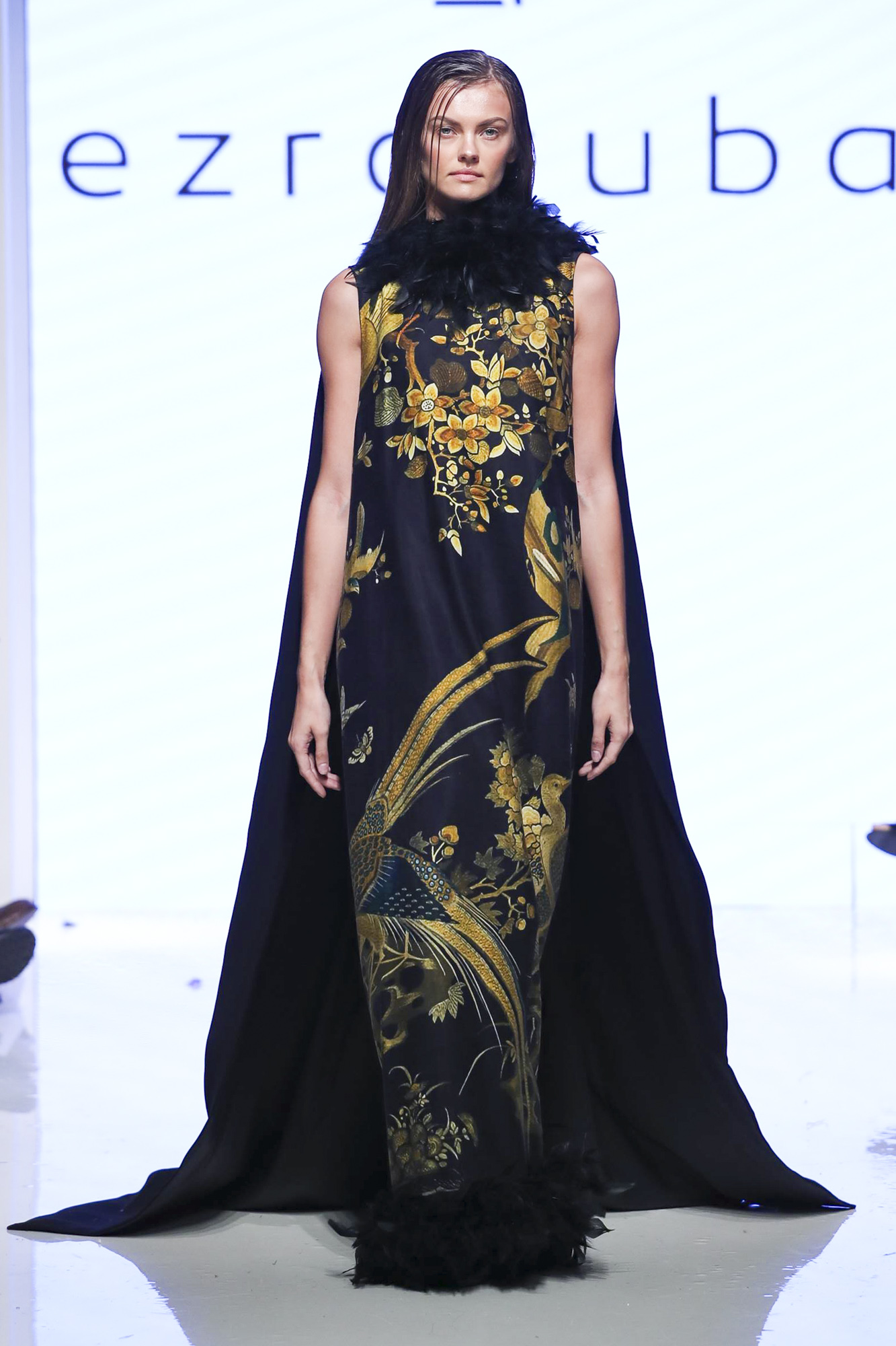Ezra Tuba fashion show, Arab Fashion Week collection Spring Summer 2020 in Dubai