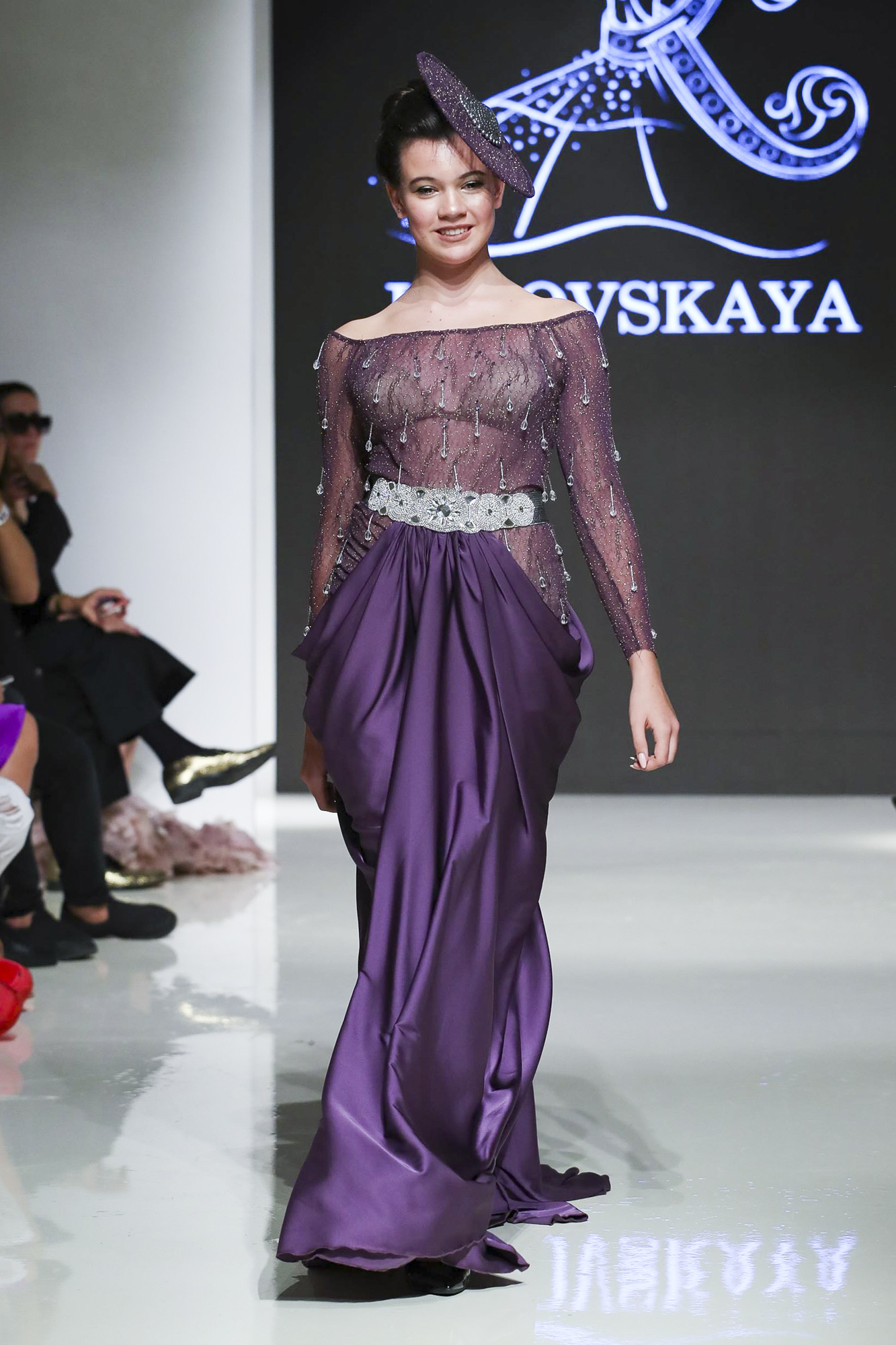 Kibovskaya fashion show, Arab Fashion Week collection Spring Summer 2020 in Dubai