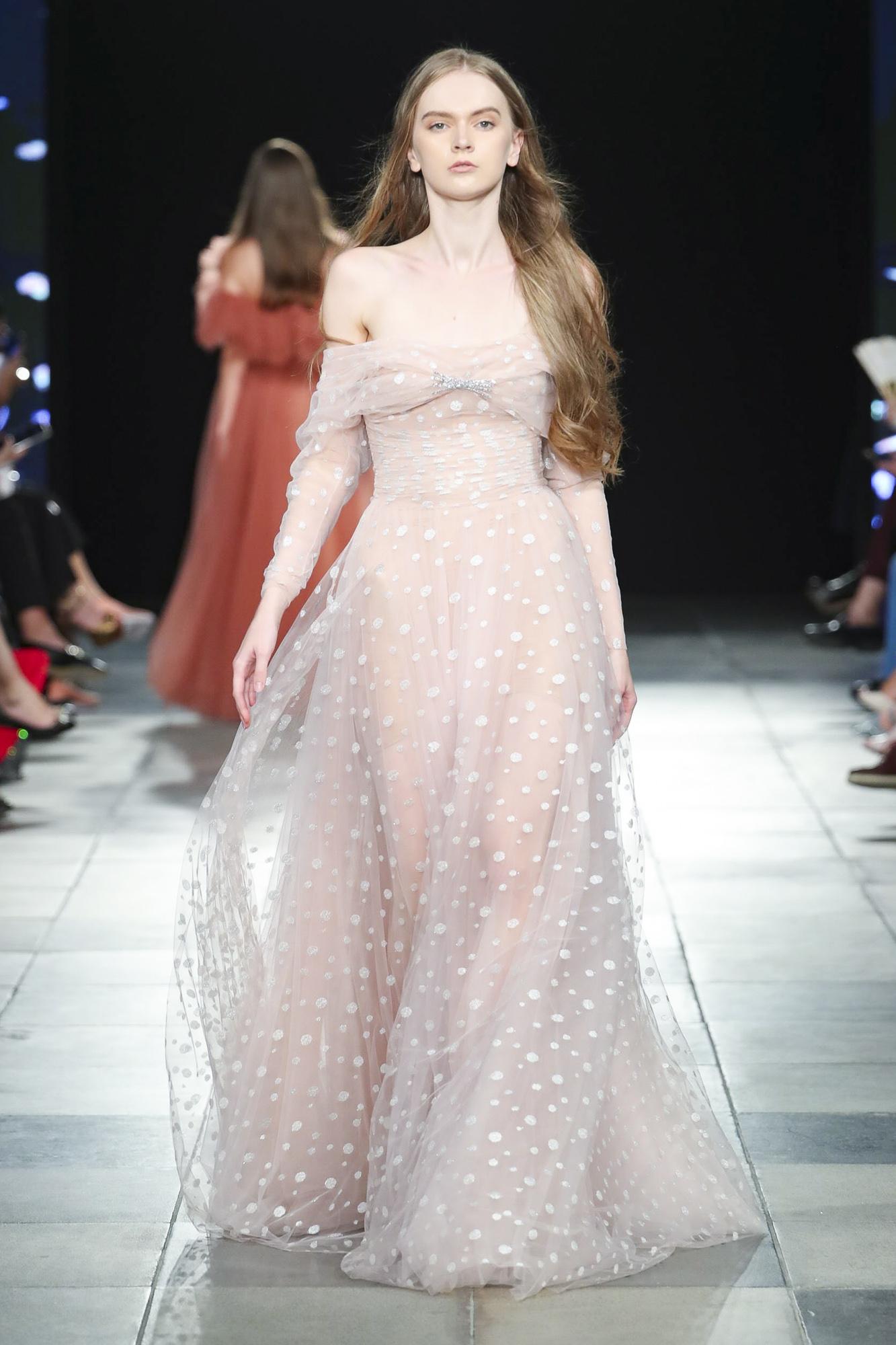 Marmar Halim fashion show, Arab Fashion Week collection Spring Summer 2020 in Dubai