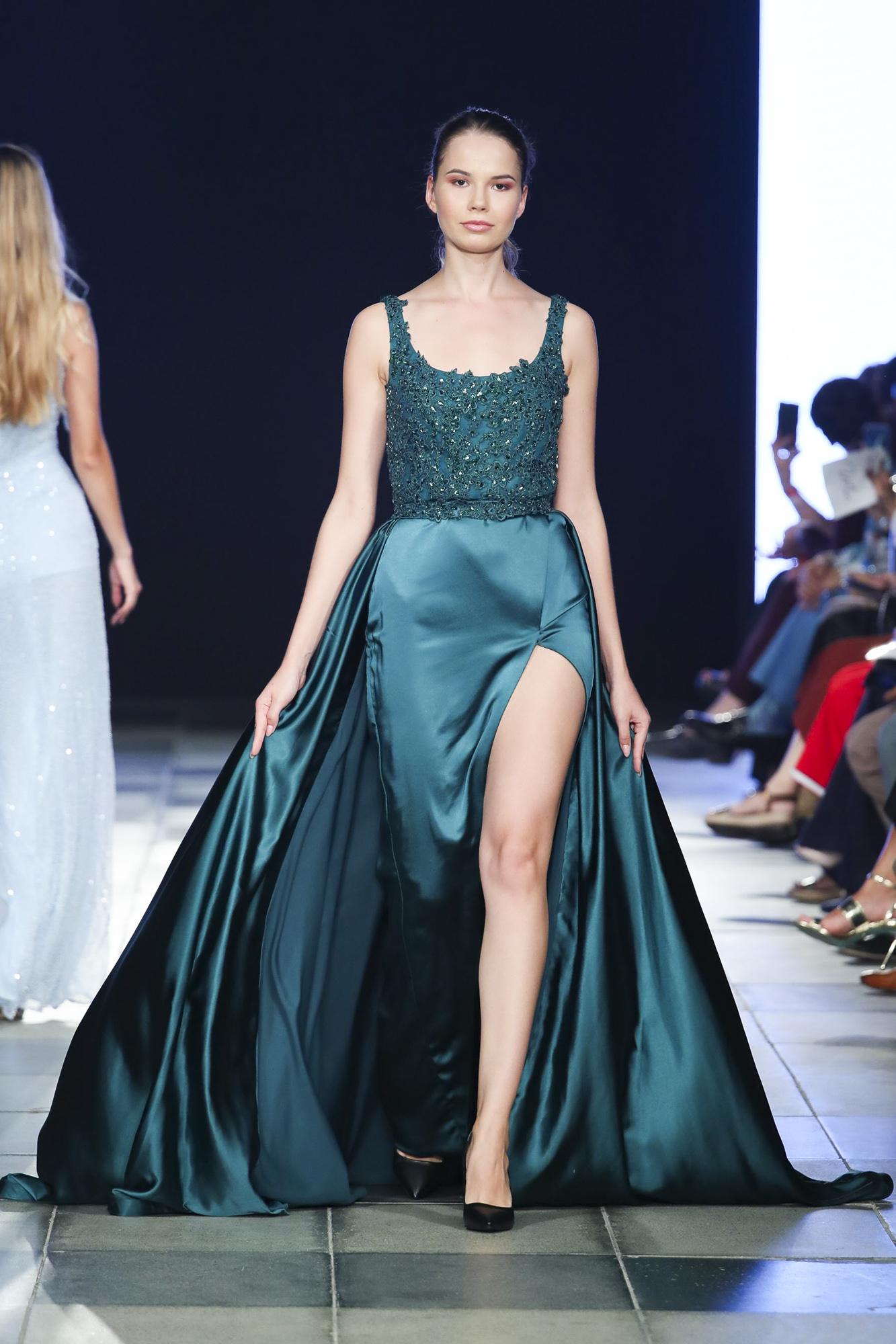 Mia Couture fashion show, Arab Fashion Week collection Spring Summer 2020 in Dubai