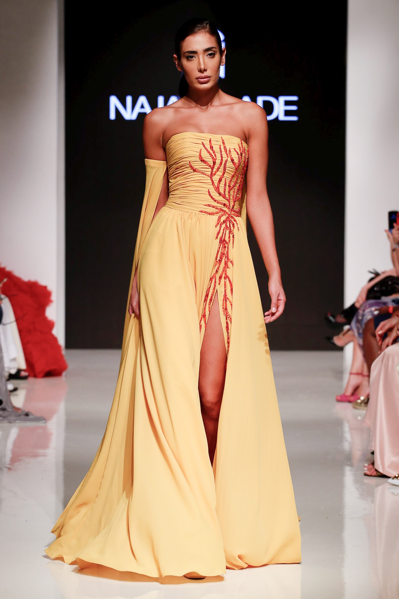 Naja Saade fashion show, Arab Fashion Week collection Spring Summer 2020 in Dubai