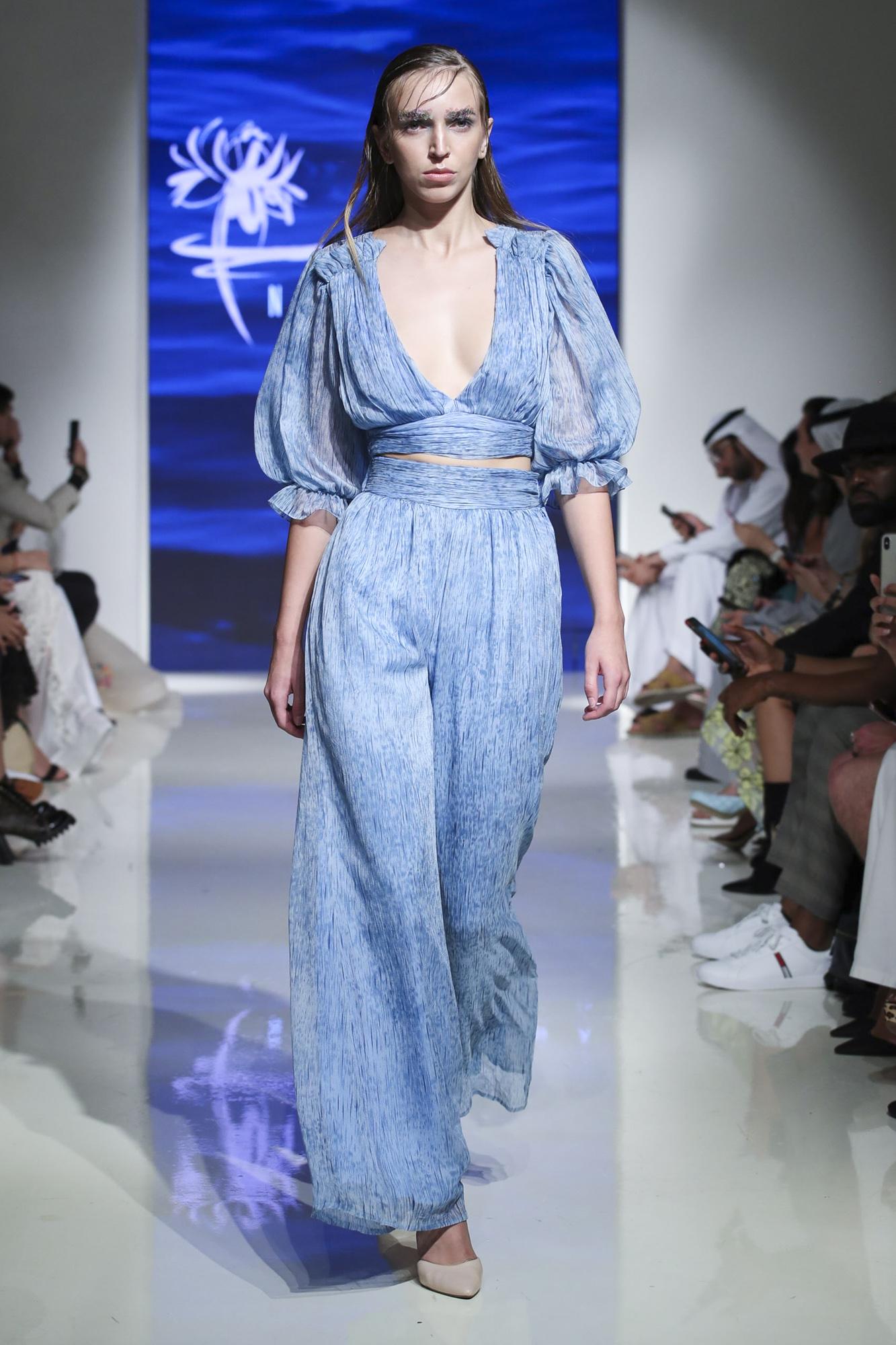 Nirmooha fashion show, Arab Fashion Week collection Spring Summer 2020 in Dubai