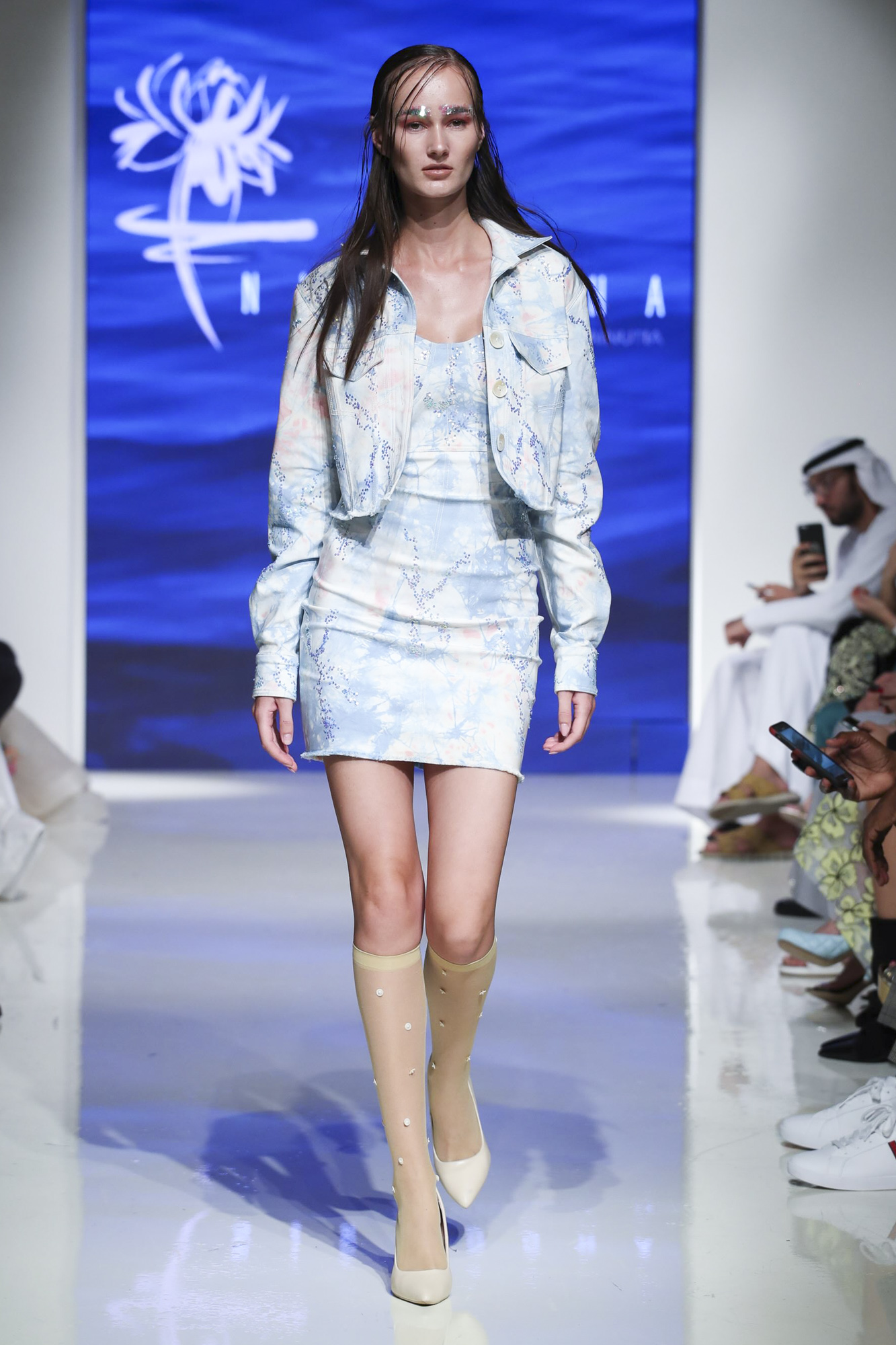Nirmooha fashion show, Arab Fashion Week collection Spring Summer 2020 in Dubai