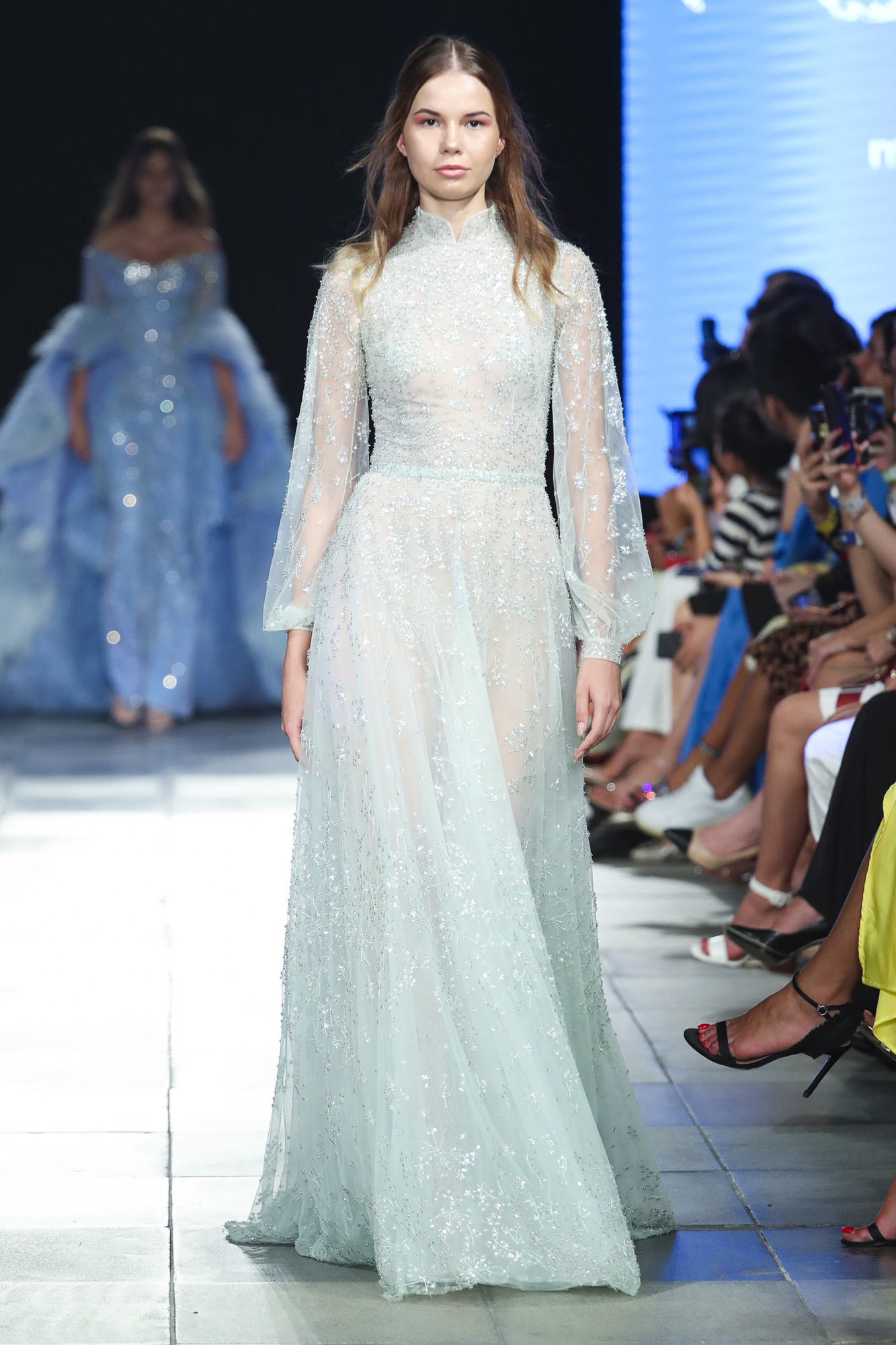 Rami Kadi fashion show, Arab Fashion Week collection Spring Summer 2020 in Dubai