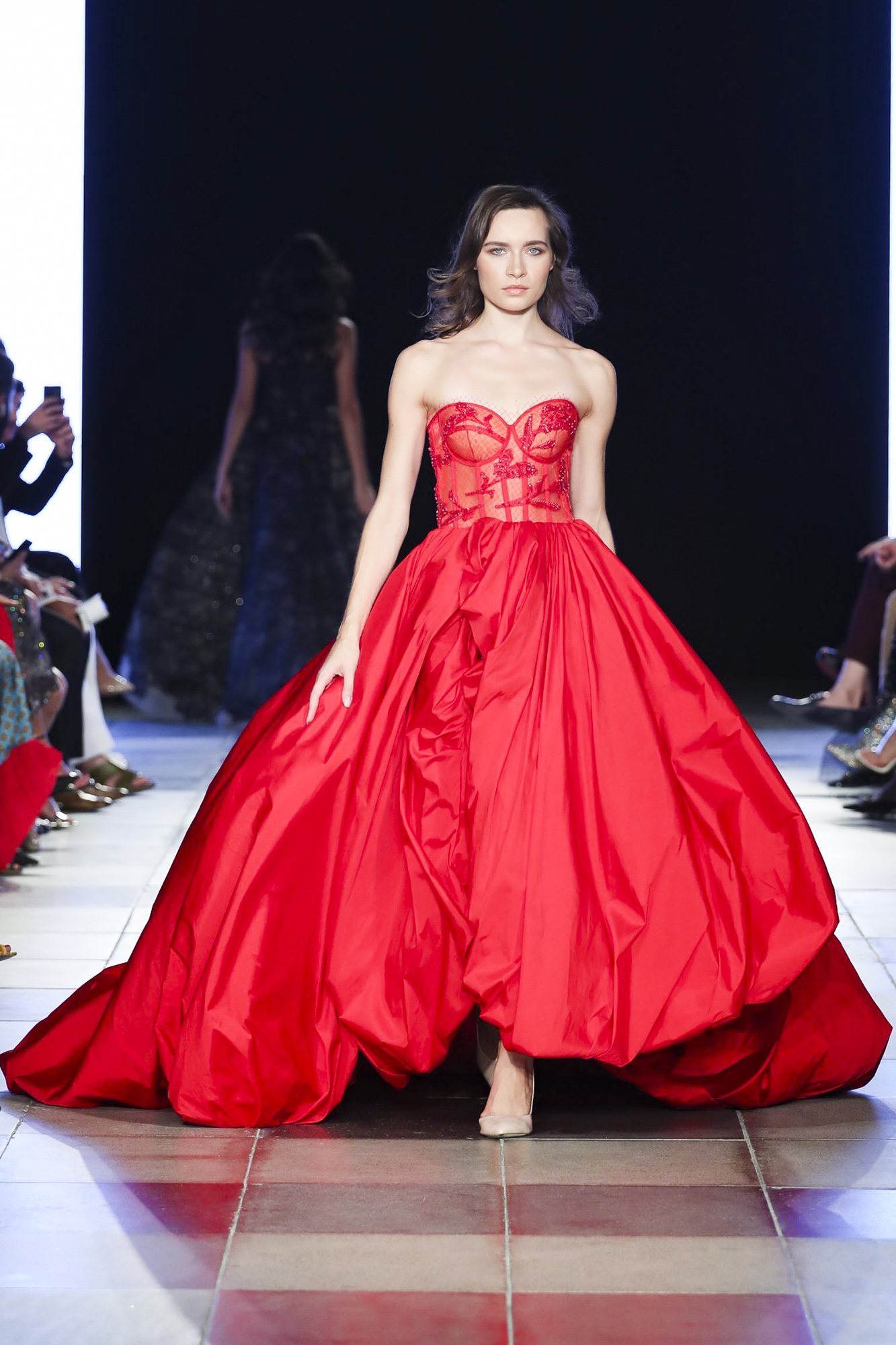 Sophie Couture fashion show, Arab Fashion Week collection Spring Summer 2020 in Dubai