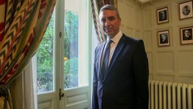 صورة السفير التركي في اليونان مشكلة نهر افروس مشكلة فنية لا يجب تحويلها الى قضية