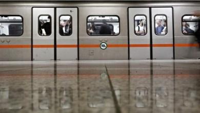 صورة اغلاق بعض محطات مترو الانفاق في اثينا للحد من انتشار فيروس كورونا