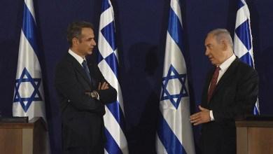 صورة اتفاق في مجال الدفاع لمدة 20 عاما بين إسرائيل واليونان