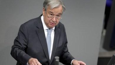 صورة غوتيريش: الامين العام للامم المتحدة يريد ولاية ثانية