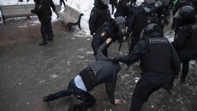 صورة الولايات المتحدة: وزارة الخارجية تدين القمع العنيف للمتظاهرين في روسيا