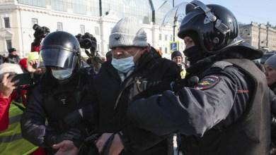 صورة روسيا: اكثر من 5300 حالة اعتقال في الاحتجاجات المؤيدة للبحرية امس