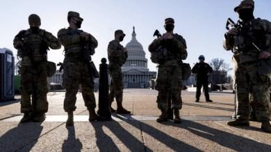 صورة يقوم البنتاغون الامريكي بفحص الحرس الوطني في الكابيتول لمدة شهرين اخرين