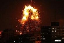 صورة قتيلان اسرائيليان في القصف الصاروخي للمقاومة على تل ابيب
