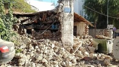 صورة زلزال بقوة 5.8 درجة يضرب جزيرة كريت