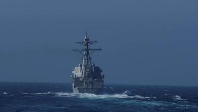 """صورة البحرية الأمريكية تعلق رسميا على حادث المدمرة """"Chafee"""" مع روسيا"""