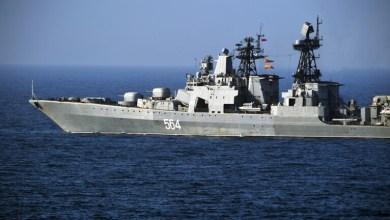 صورة روسيا تتصدي لمحاولة خرق مياهها الإقليمية في بحر اليابان من قبل مدمرة أمريكية