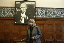 صورة وفاة الزعيمة الاشتراكية اليونانية جينيماتا بعد مرض طويل