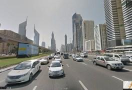 شارع الشيخ زايد على Street View