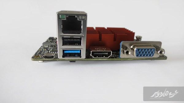 منافذ التوصيل الخلفية للحاسب LIVA