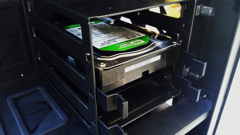 Cooler Master MasterCase 5 Pro 3.5 Hard Installed other side