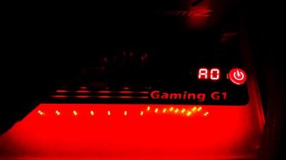 36- Gigabyte Z170X Gaming G1 Front Light