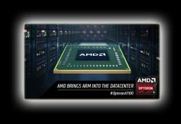 شرائح عرض لمعالجات AMD Opteron A1100