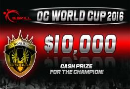 منافسة G.Skill OC World Cup 2016