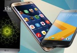 هاتف S7vs htc 10 vs lg g5