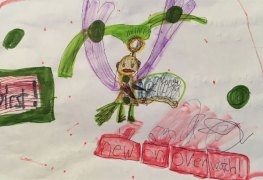 فتاة صغيرة تصمم شخصية للعبة Overwatch والمطورين يفاجئونها بالرد