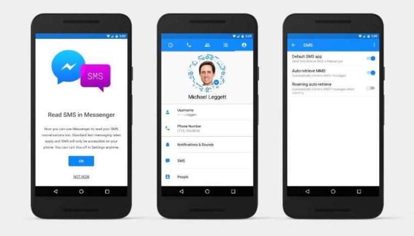 Facebook Messenger SMS Integration