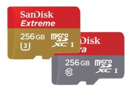 بطاقة ذاكرة 256GB microSD من Western Digital