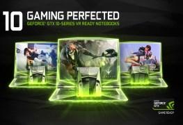 سلسلة بطاقات انفيديا GeForce GTX 10