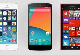 iOS VS Android VS WindowsPhone