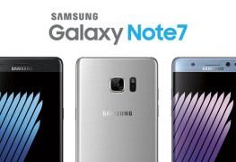 وقف تصنيع هاتف نوت 7 Verizon - هاتف note7
