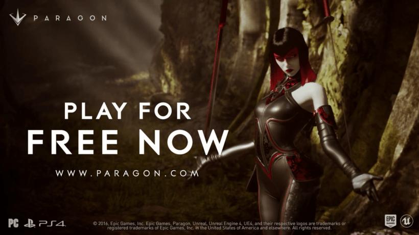 الإعلان عن شخصية جديدة لـ لعبة Paragon