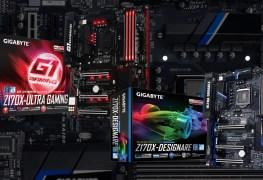 لوحة جيجابايت Z170X Designare و Z170X Ultra Gaming
