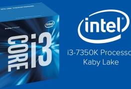 معالج إنتل i3-7350K