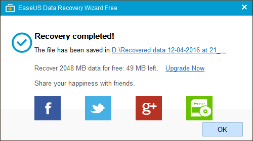 EaseUS Data Recovery Wizard - Use - 7