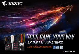 Gigabyte Launches Aorus Motherboards