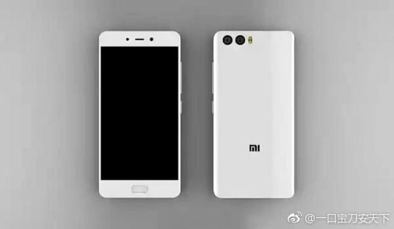 تسريب صورة لـ هاتف Xiaomi Mi 6 توضح وجود كاميرتين خلفيتين