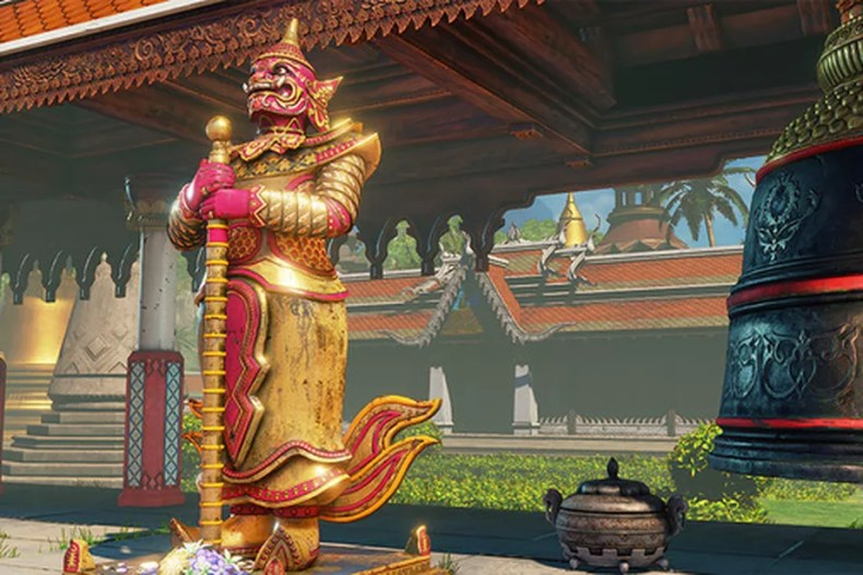 Temple Hideout Street Fighter 5