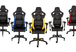 تعرف على كرسي T1 RACE المخصص للاعبين من CORSAIR