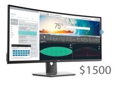 البدء بتوفر شاشة Dell UltraSharp U3818DW المخصصة للأعمال في الأسواق